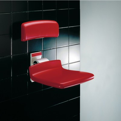 ASIENTO DE DUCHA ABATIBLE DE PARED - PRESSALIT CARE